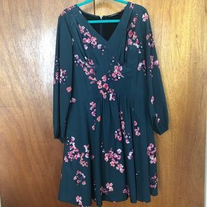 Eshakti Green Floral Dress 14W